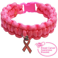 Breast Cancer Support Bracelet - Pink