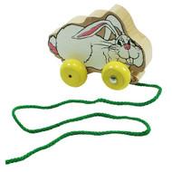 Hopping Bunny Tug-Along Toy