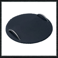 Large Round Slate Serving Tray