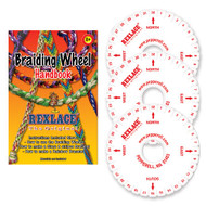 Foam Kumihimo Friendship Bracelet Braiding Wheel 3-Pack