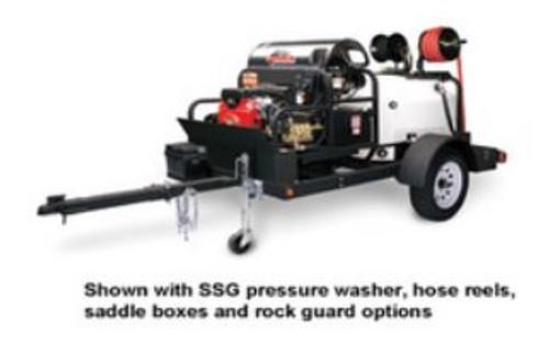 Shark TRS-2500 Pressure Washer Trailer w/ Tank