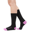 Inspire Yourself black women's pima cotton fashion socks by Posie Turner. Socks with inspirational messages.