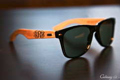 Groupon AU Personalized Sunglasses - RayBan Monogram