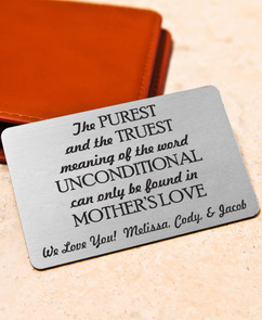 Groupon AU Personalized Wallet Card - Purest & Truest