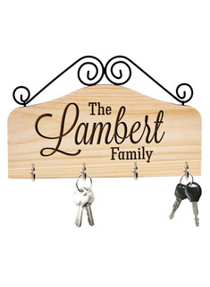 LUX - Personalized Family Key Holder - The Family