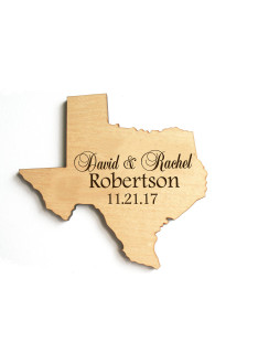 Personalized Family State Magnet