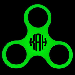 LUX - Glow-In-The-Dark Fidget Spinner - Green