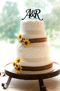 LUX  - Personalized Cake Topper - Initials