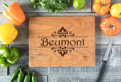 Cherry Personalized Cutting Board ~ Beumont