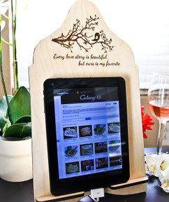 LUX - Cookbook/iPad Stand - Every Love Story