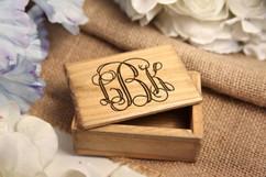 Grpn Italy - Personalized Jewelry Box - Monogram