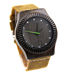 Grpn Italy - Wood Engraved Watch W#87 - Vault
