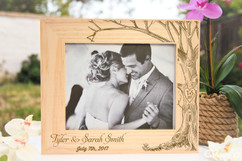 Personalized Picture Frame - Love Tree