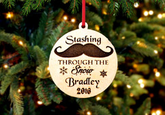 Grpn BE - Engraved Christmas Ornament -  Stashing