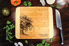 Willow Tree Name Personalized Cutting Board HDS