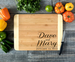 Corner Names Personalized Cutting Board HDS