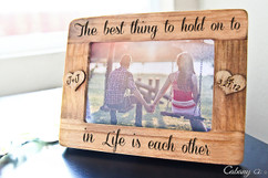 Grpn Italy - Picture Frame - Best thing to hold onto