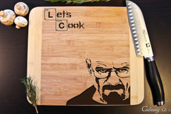 Breaking Bad Personalized Cutting Board HDS