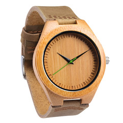 Grpn BE -Wood Engraved Watch W#63 - Verdent