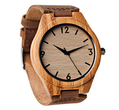 Grpn BE - Wood Engraved Watch W#67 - Rival
