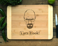 Breaking Bad Typograph Personalized Cutting Board HDS