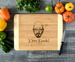 Heisenberg  Personalized Cutting Board HDS