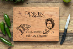Cherry Personalized Cutting Board ~ Game of Thrones