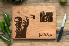 Cherry Personalized Cutting Board ~ Walking Dead