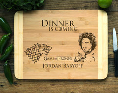 Game of Thrones Personalized Cutting Board HDS