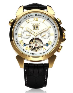 Luxury Mechanical Gold Stainless Steel Watch - Resistance