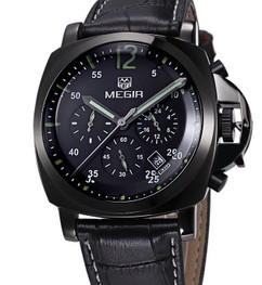 Luxury Sport Mechanical Black Stainless Steel Watch - Discovery