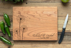 Cherry Personalized Cutting Board ~ Dandelion