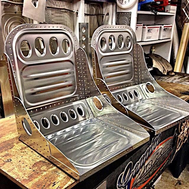 Bomber Seat 7 Handmade Seat Co