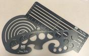 Jamey Jordan 3pc Layout Template Kit