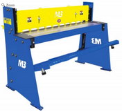 "Ultimate 52"" x 16ga Foot Shear"