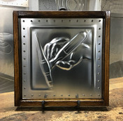 Tig Hand in Square Frame