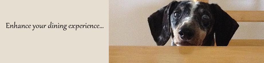 Handpainted Ceramic Dachshund Dog Bowls