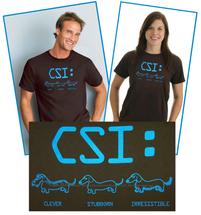 CSI Dachshund T-Shirt
