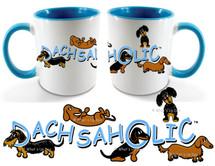 Dacshaholic Dachshund Coffee Mug