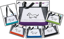 Dachshund Whimsical Wiener Tote Bag