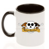 Dachshund Wiener Dog Dad Skull Coffee Mug