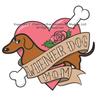 Wiener Dog Mom Tattoo Dachshund Tank Top