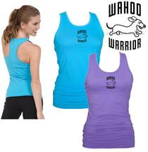 Dachshund Wahoo Warrior Racerback Practice Tank