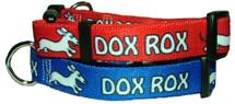 Dachshund Dox Rox Dog Collar