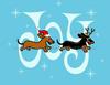 Dachshund Christmas Shirt Holiday T-Shirt Joy