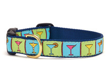 Martinis Dachshund Dog Collar and Leash