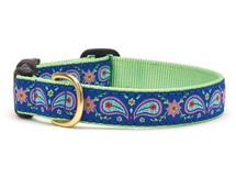 Posh Paisley Dachshund Dog Collar and Leash