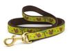 Dachshund Squirrels Dog Collar and Leash