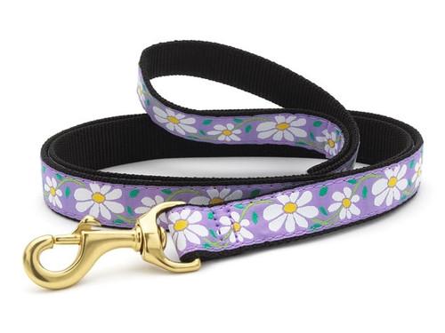 Dachshund Daisy Floral Dog Collar and Leash
