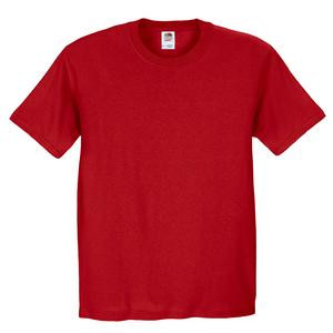 FRUIT OF THE LOOM® HEAVY COTTON HD™ T-SHIRT - Red